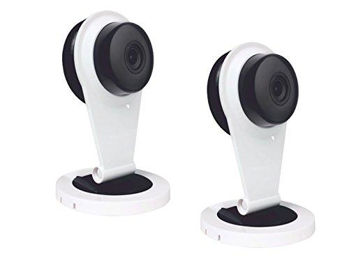 Set van 2 bewakingscamera 100° hoek, accessoires voor ELRO Smart Home alarmsysteem AS8000