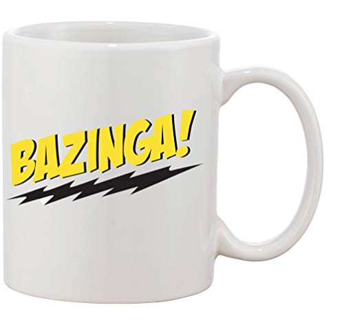 Tasse mit Aufdruck - Modell Bazinga - Kaffeetasse Becher Teetasse Kaffeebecher