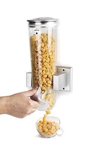 Lacor 62541 Dispensador de Cereales Giratorio de Pared Simple, 1\'50 litros, Plástico