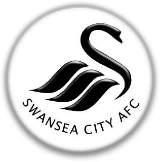 Swansea : English Football League, Pinback Button Badge 1.50 Inch (38mm)
