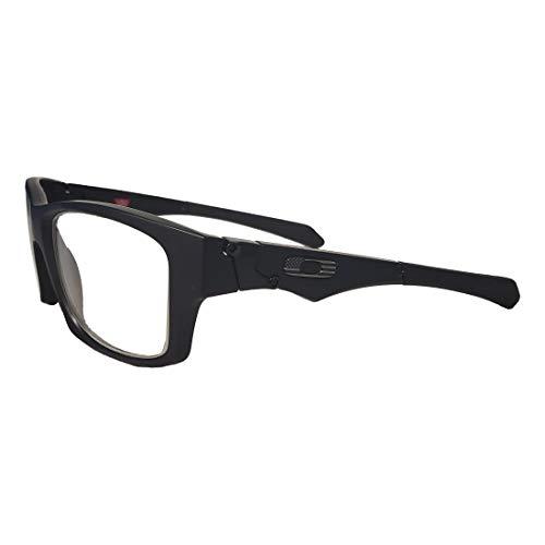 Oakley Jupiter Squared 0.75mm Pb Lead Radiation Glasses - Leaded Protective Safety Eyewear (Matte Black)