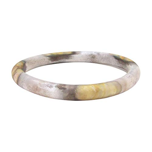 Sheila Fajl Everybody's Favorite Tubular Bangle in Burnished Silver Plated