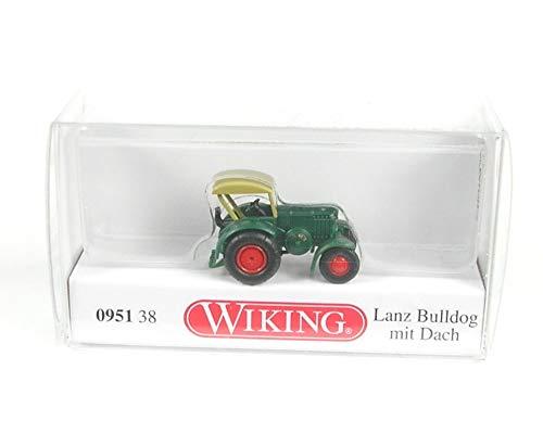 Wiking 095138 Lanz Bulldog mit Dach - grün (1:160) Spur N