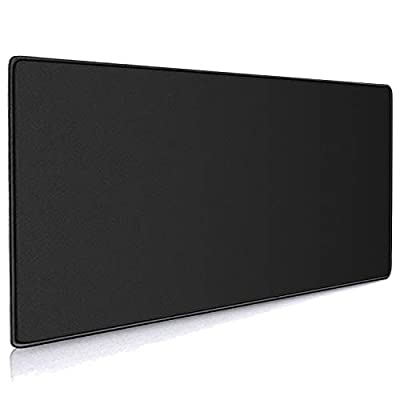 Cmhoo XXL Professional Large Mouse Pad & Computer Game Mouse Mat (90x40 Black)