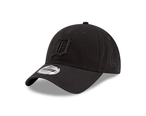 New Era Detroit Tigers 9twenty Adjustable Cap MLB Black On Black Black - One-Size