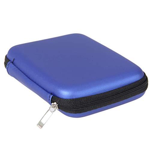 Li-ly 2.5 'HDD Bag Disque Dur Externe USB Carry Mini Câble USB Housse Etui Poche Ecouteur Sac PC Ordinateur Portable Disque Dur