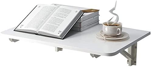 Xkun Mesa plegable, escritorio de ordenador, escritorio, mesa de cocina plegable montada en la pared, adecuada para el aprendizaje, dormitorio, balcón, ahorrar espacio