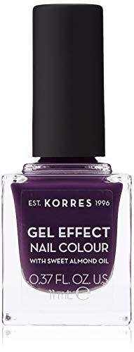 Korres Sweet Almond Nagellack,75 violet garden,1er Pack (1 x 11 ml)