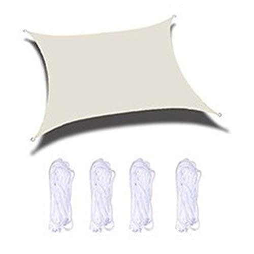 Kousa Auvent de balcon - 3 x 3 m Oxford Sun Shelter - Imperméable - Rectangulaire - Pour extérieur, plage, jardin, camping, piscine