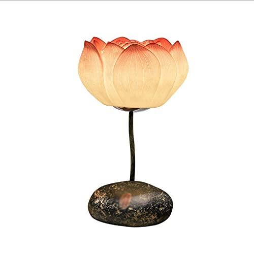 Lámparas de mesa pequeña lámpara de mesa dormitorio cálido noche de cama creativa estilo chino lámpara de mesa simple moderno moderno lámpara lámpara lámpara