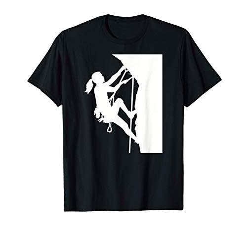 Mujer escaladora Camiseta