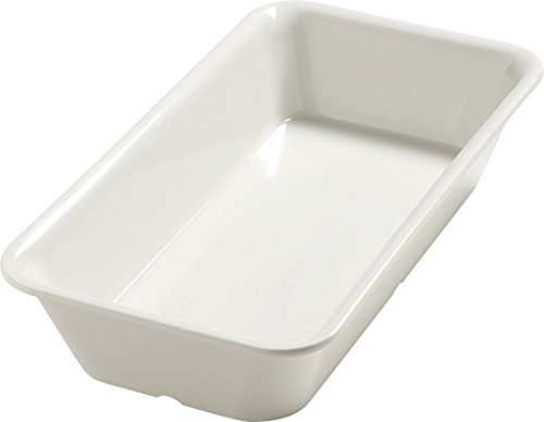 Best Review Of Carlisle 5554037 Balsam Melamine Third-Size Food Pan, Bavarian Cream