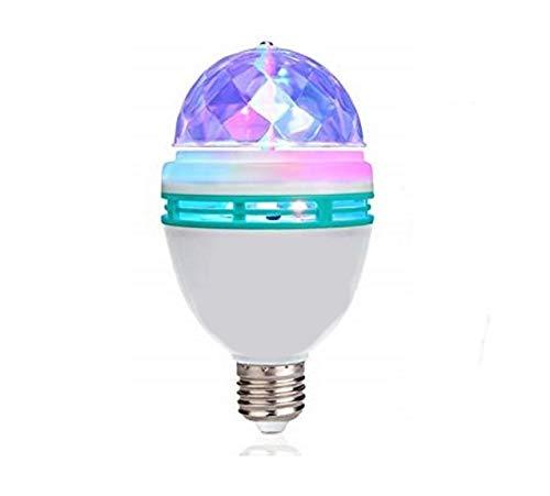 Lightahead LA005 Rotating LED Strobe Bulb Multi changing Color Crystal Stage Light