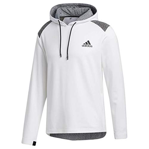 adidas Golf Herren Cold.RDY Hoodie Left Chest Logo Stretch Hoody - Weiß - S