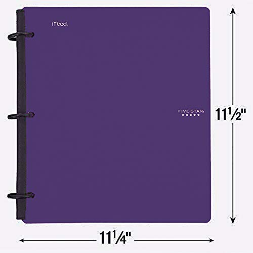 Five Star Flex Hybrid Notebinder, 1-1/2 Inch Binder, Notebook and Binder All-in-One, Color Selected For You (29146) Photo #2