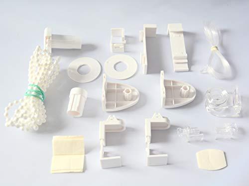 Mardom Technik Paket für Mini Klemmfix Doppelrollo | Ersatz ohne Bohren | Montage Set