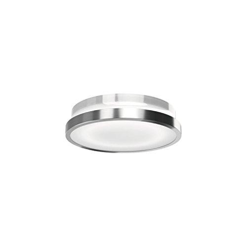 Osram LED Wandlampe, Noxlite, silber, Bewegungsmelder, Dämmerungssensor, Außenleuchte, 20 Watt, Warmweiß- 3000K