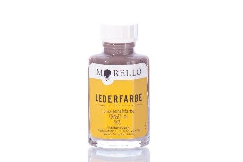 Morello Lederfarbe granit-grau