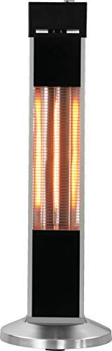 Millarco 58640 Carbon Karbon Stand-Terrassenheizer für Balkon Wintergarten Heizung Strahler Elektro-Infrarot-Heizstrahler Karbon (Carbon) Terrassenstrahler Wärmestrahler elektrisch Infrarotheizstrahle