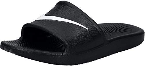 Nike Kawa Shower, Chanclas Hombre, Negro (Black/White), 41 E