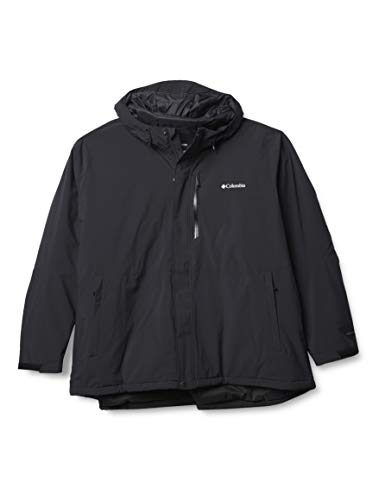 Columbia Men's Winter District Jacket, Black, X-Large
