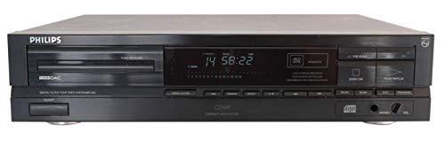 Philips CD 614 CD Spieler in schwarz