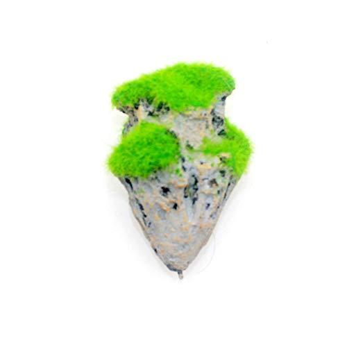 Romote 1 Pc Schwimmsteinfisch-behälter Dekorative Hänge Schwebende Steine ??Unterwasser-Landschaft Stein Hängestein Aquarium Dekorationen Aquarium Zubehör, S