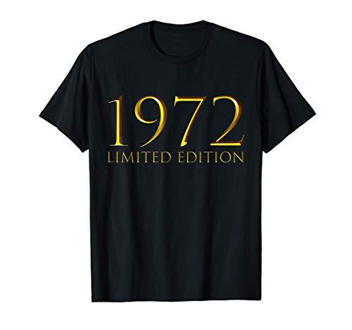 48 Años Cumpleaños Hombre Mujer Regalo Deco Divertido 1972 Camiseta