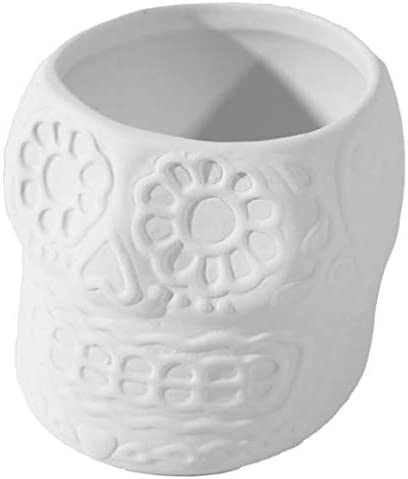 Sugar Gifts Skull Planter - Paint Fees free!! Keepsake Own Ceramic Your