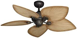 Bombay Tropical Ceiling Fan in Oil Rubbed Bronze with 42