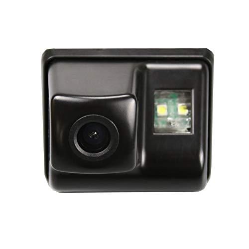 Cámara de aparcamiento de marcha atrás HD 720p para monitores universales (RCA) (color: negro) para Mazda CX-5 CX 5 CX5 2012-2017 CX-7 2006-2012 Mazda 6 M6 2002-2008