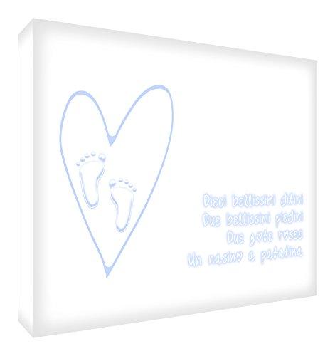 Feel Good Art 341 10.5 x 7.4 x 2 cm Soft Blue