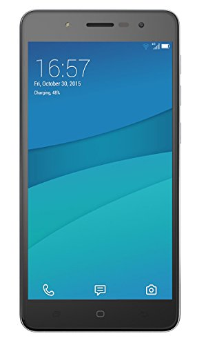 Hisense L695 4 g Smartphone Unlocked (5,5 Zoll) Display, 16 GB, Dual-SIM 5.1 Lollipop, Android, Schwarz