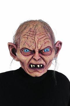 Herr der Ringe / Hobbit Gollum Maske Kostüm Zubehör Latex Voll Maske Erwachsene