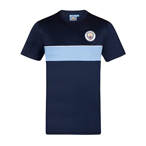 Manchester City FC - Camiseta Oficial para Entrenamiento - para Hombre -...