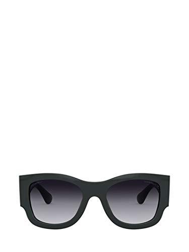 Chanel Luxury Fashion dames CH5421B1459S6 groene zonnebril | voorjaar zomer 20