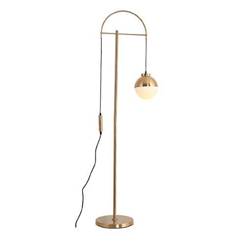 & Daglicht staande lamp eenvoudige moderne glazen hotel slaapkamer restaurant sofa vissen lift bedlampje staande lamp