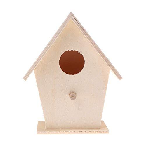 LIIYANN Oiseau 'nid Chalet Naturel Mur Rond Perroquet Jardin décoration la Chaleur du Printemps