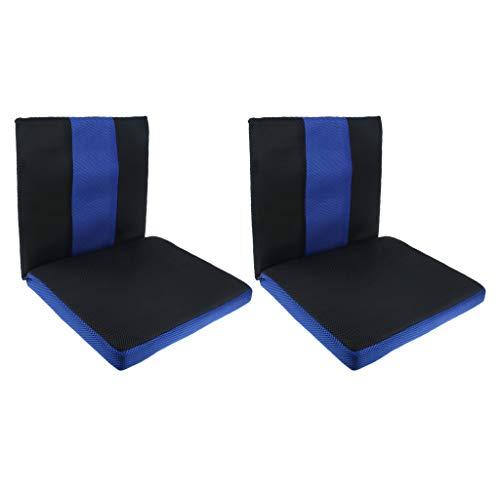 MERIGLARE 2x Coccyx Tailbone Support Cojín Asiento Silla de Ruedas Coche Oficina Silla Almohada