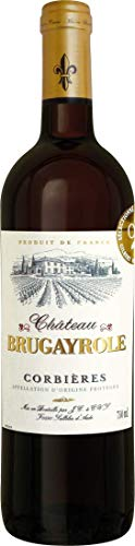 Château Brugayrole Corbières AOP - Joseph Castan - Frankreich - (1x 0,75l) Rotwein trocken
