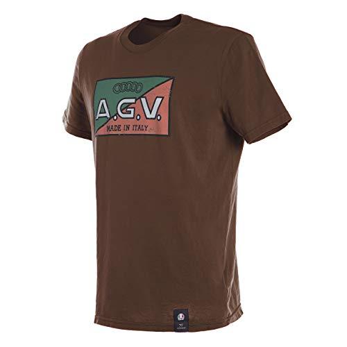 Dainese T-Shirt, Brown, Größe L