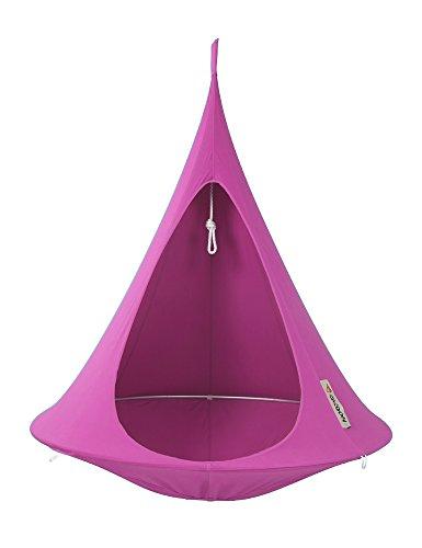 Cacoon – single voor hangend gordijn, set, voor camping en outdoor-gebruik Ø1,5 fuchsia