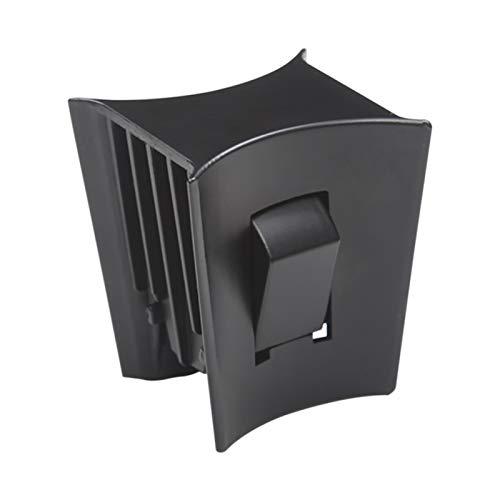 POHOVE - Soporte para taza de agua para Tesl, modelo 3 y modelo Y 2017-2020, clip estabilizador antideslizante Cupholder Limiter fácil de quitar, negro