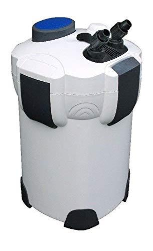 AquaOne Aquarium Außenfilter HW-303A Filter 1400 L/h 700l Becken Filtermaterial Pumpe Filter Schwammfilter Wasser Leise