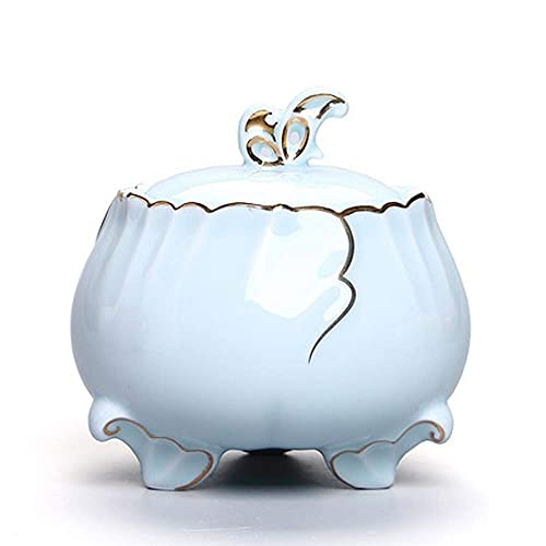 Urnas para cenizas Urnas funerarias, urnas funerarias para adultos Urnas de cremación a prueba de humedad de cerámica para una pequeña cantidad Urnas de enterramiento de cenizas humanas en el hog