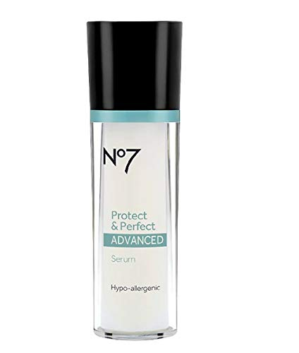Boots No7 Protect & Perfect Advanced Anti Aging Serum Bottle - 1 oz by Boots