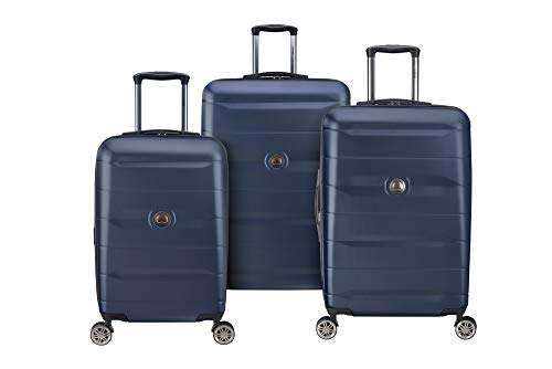 Delsey Luggage Comete 2.0 3-Piece Luggage Set, Anthracite