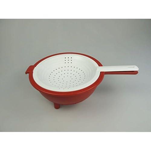 Tupperware Saladin - Colino per insalata e verdura, con funzione di centrifuga