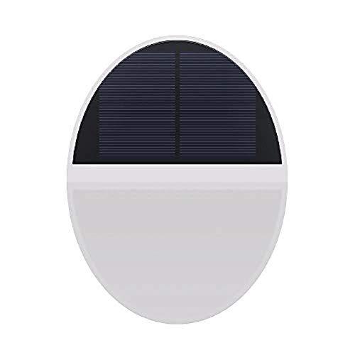 Aplique Solar Al Aire Libre Lámpara De Pared Solar 48Led