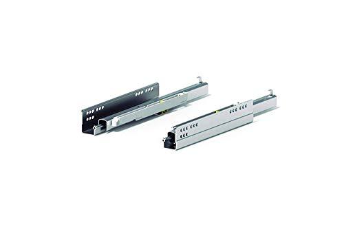 Coppia Guide Tipo Quadro Per Cassetto Con Estrazione Totale Sgancio A Clip Regolazioni 3D (500mm)